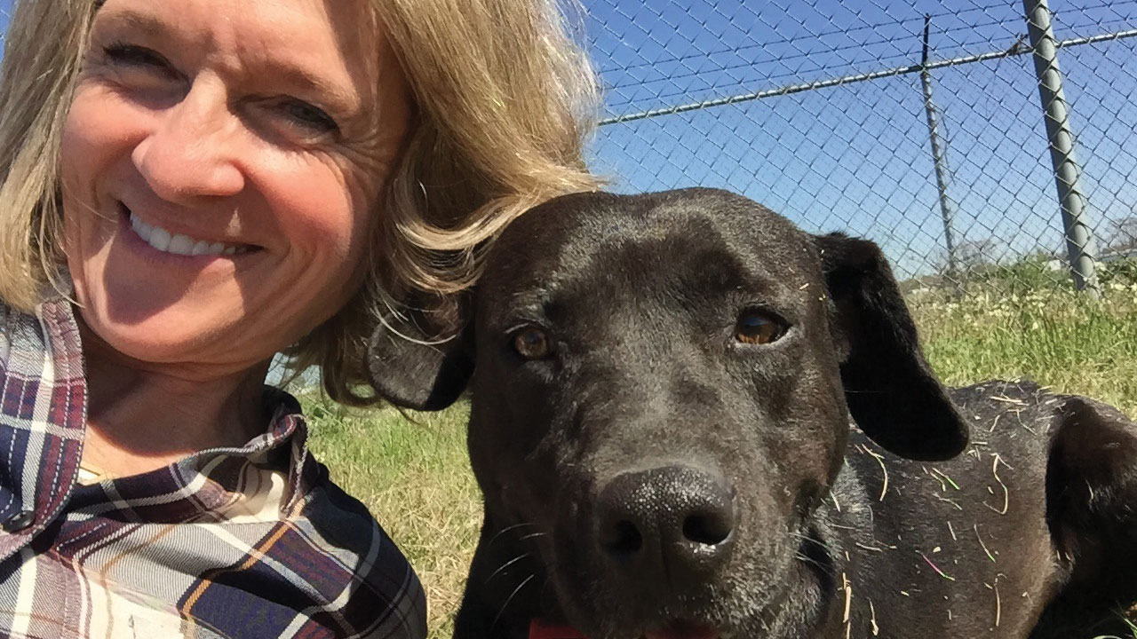 dog rescue helps inmates